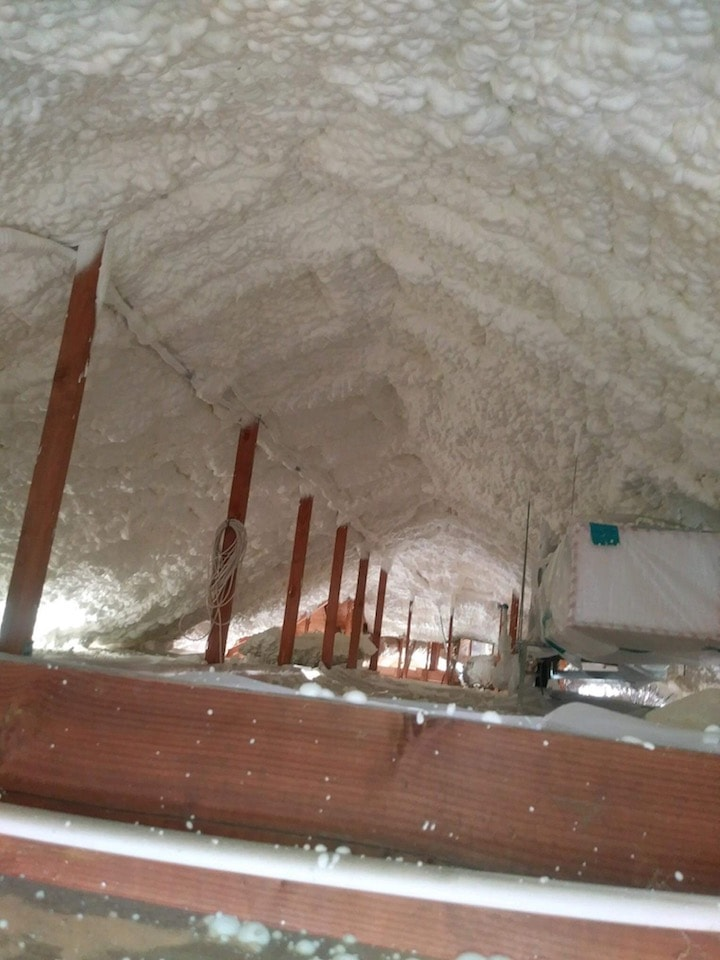 Attic Insulation Foam Knoxville