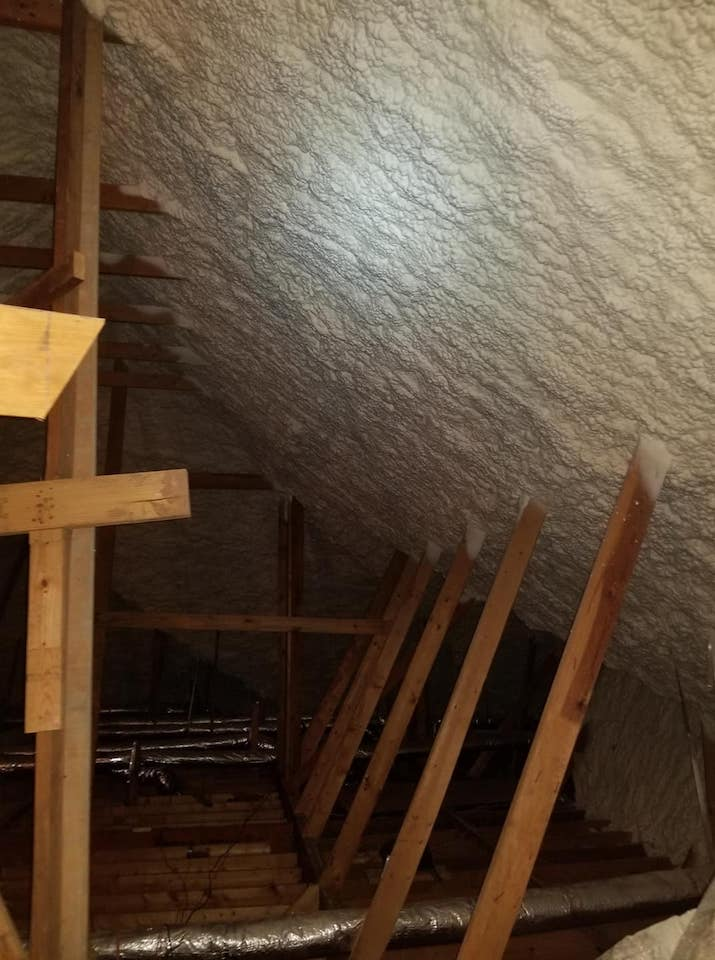 Spray Foam Attic Insulation Knoxville